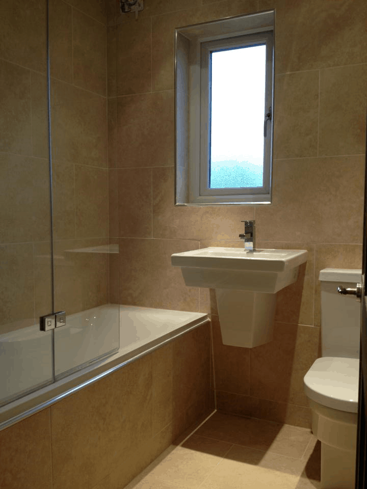 fitted shower plumbing